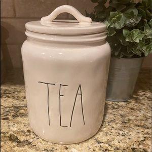 Rae Dunn Tea Canister (Magenta)